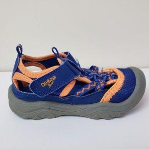 Oshkosh Toddler Boys Blue Bump Toe Sandals 9